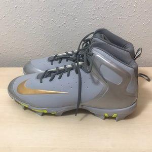 Nike alpha huarache baseball cleats size 16